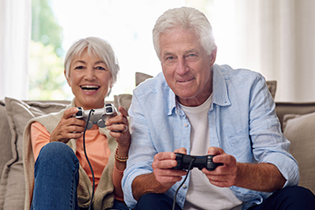 Video games show potential in improving key aspects of memory in older adults