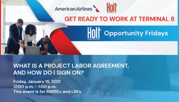 Holt Opportunity Fridays: What is a Project Labor Agreement, and How Do I Sign On?