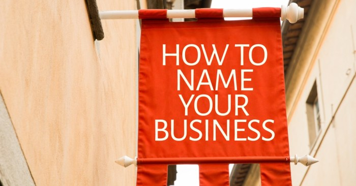 How to come up with a business name — 10 naming a business stories