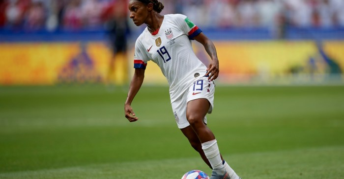 Crystal Dunn, one of the World's Best Soccer Players, Feels 'like someone has dimmed my light'