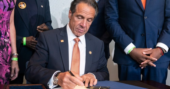 "Gov. Cuomo Declares Gun Violence in New York a ""Disaster Emergency"""