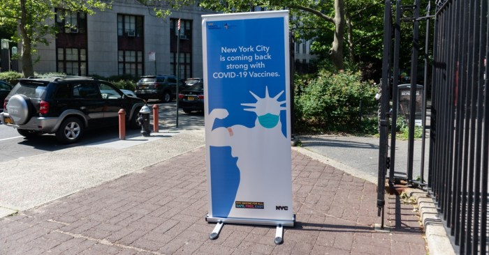 Recovery for All of Us: Mayor De Blasio Announces City Workforce Health Care Mandate