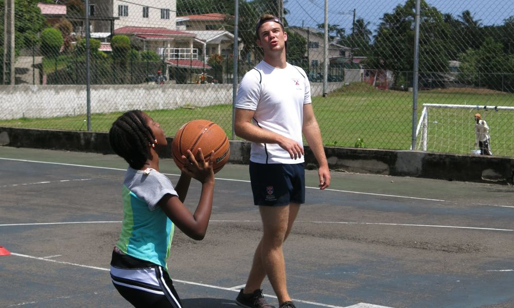 Volunteer as a Basketball coach in St Lucia