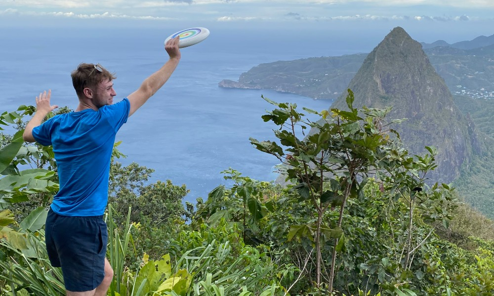ultimate frisbee coach on his gap year in the Caribbean