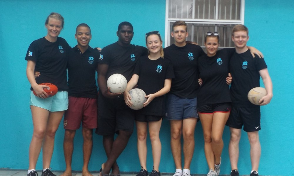 International rugby tournament in St Lucia
