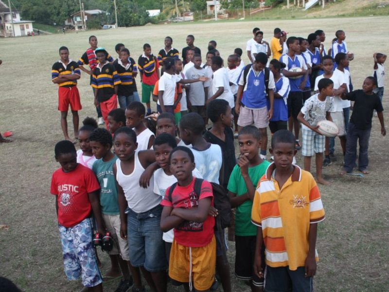 Rugby festival in St Lucia