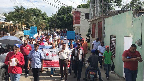 Comité de Lucha por el distrito municipal de Amina se reúne con organizaciones
