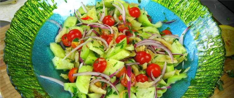 A Classic Caribbean Summer Salad From My Garden CaribbeanPot Com