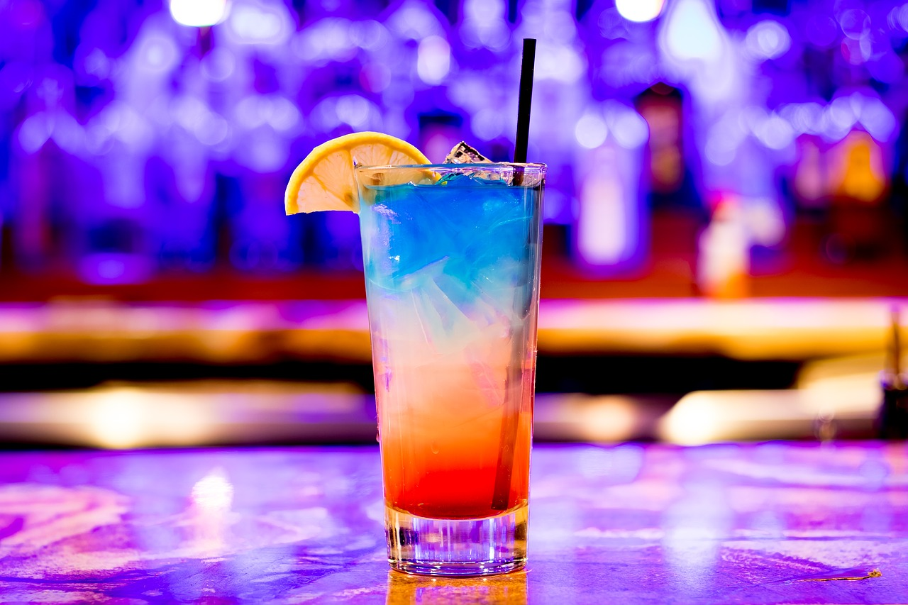 New Year Special: Blue Fizz