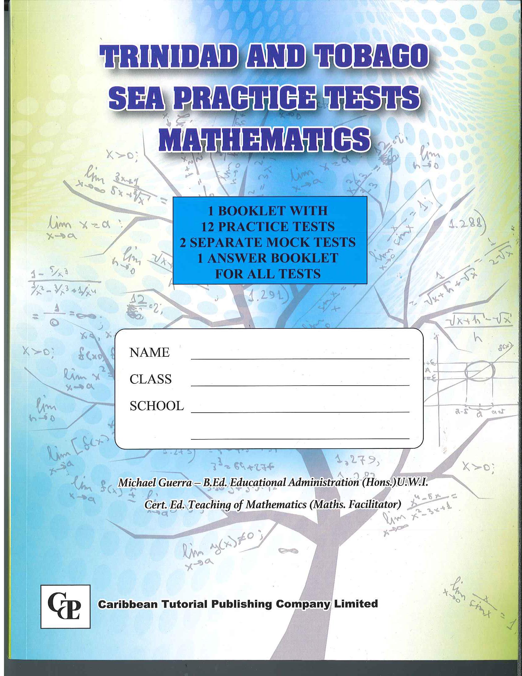 Trinidad and Tobago SEA Practice Tests Mathematics