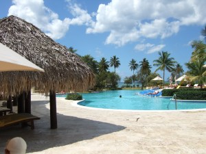 Pool area at Dreams La Romana