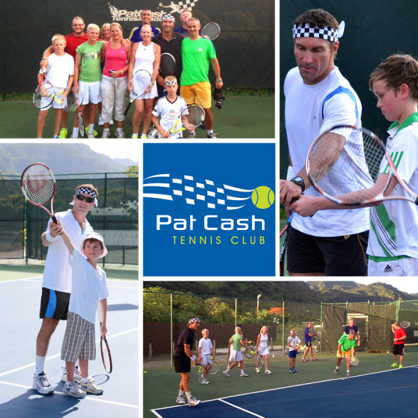 Pat Cash Tennis Club at Buccament Bay