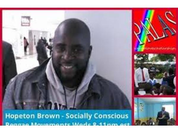 Reggae Wednesdayz – Hopeton Brown Smooth Sailing for Lovers