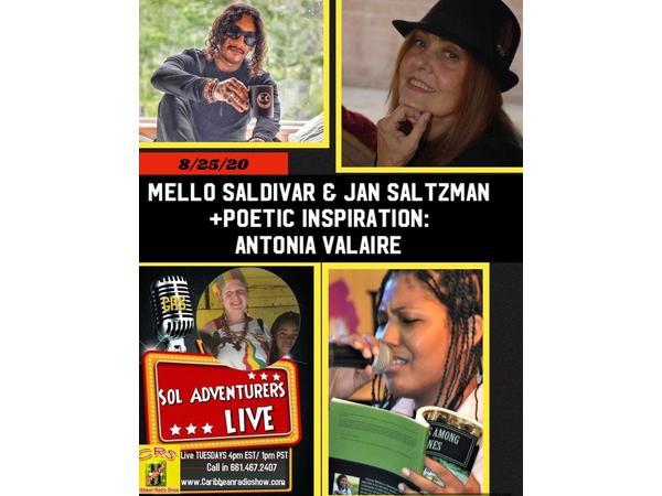 150: Sol Adventurers Live E12: Jan Saltzman, Mello Saldivar & Antonia Valaire