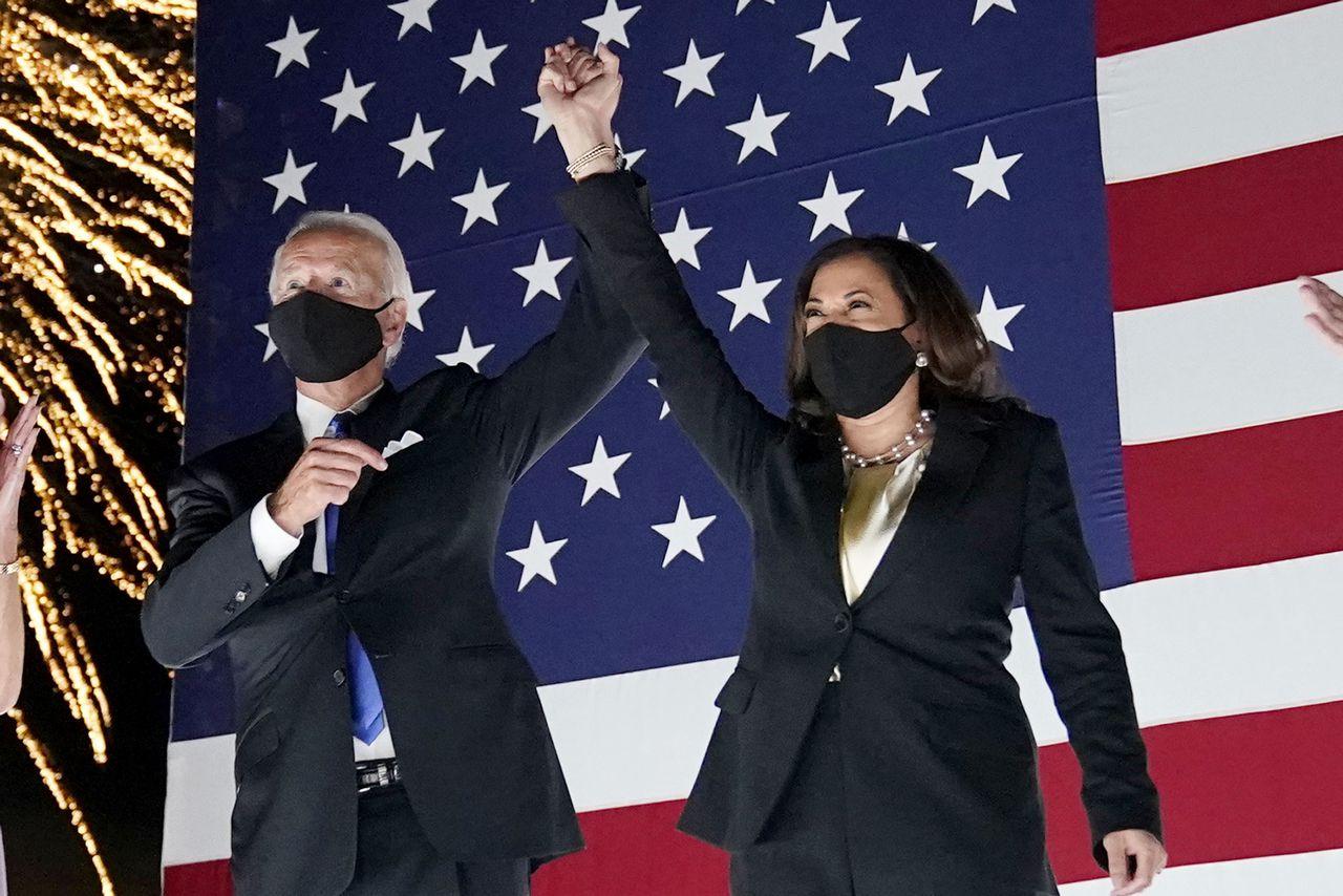 Joe Biden and Kamala Harris declared winners of 2020 US