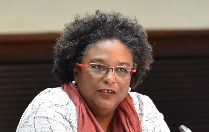Barbados' Prime Minister Mia Mottley Wards Off Strike by Security