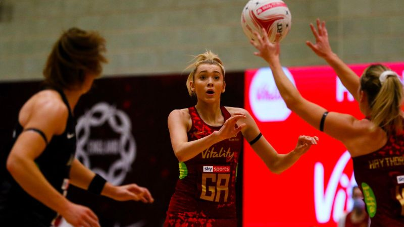 Vitality Netball Legends Series: Jess Thirlby wants clean sweep of