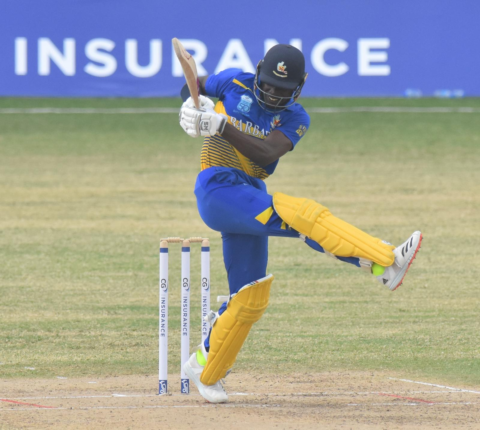 Regional Super 50 Pollard's 5-17 & Mohammed's ton see Red