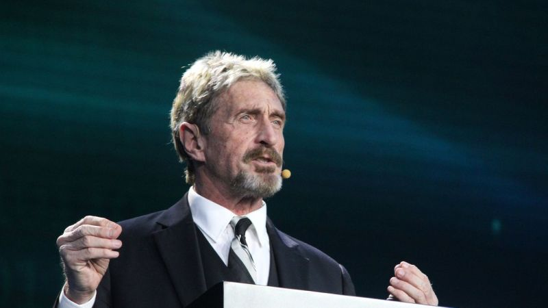 John McAfee, antivirus software creator with Alabama ties, charged with