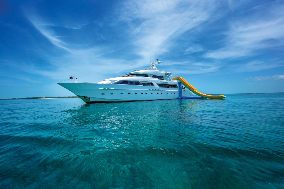All Aboard These Charter Yachts