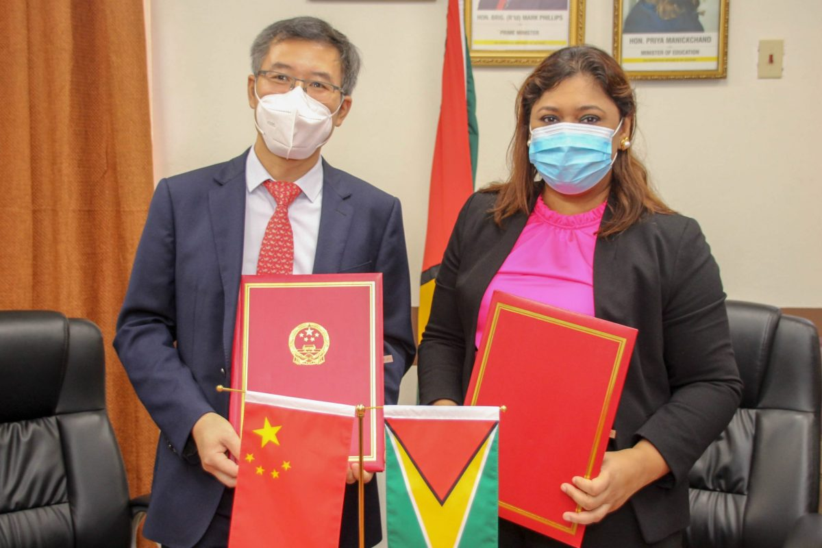 """Students can win US$1000 as Guyana, China launch """"Friendship Youth"""