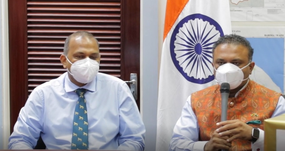 Guyana to get 80,000 COVID vaccines from India