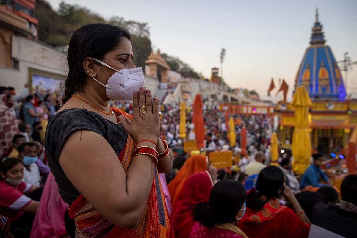 Covid-19 news: Cases in India hit record high as Kumbh