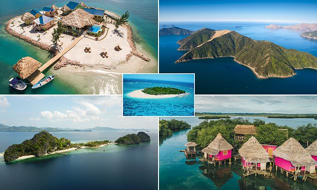 Paradise all to YOURSELF! Tropical islands up for private hire