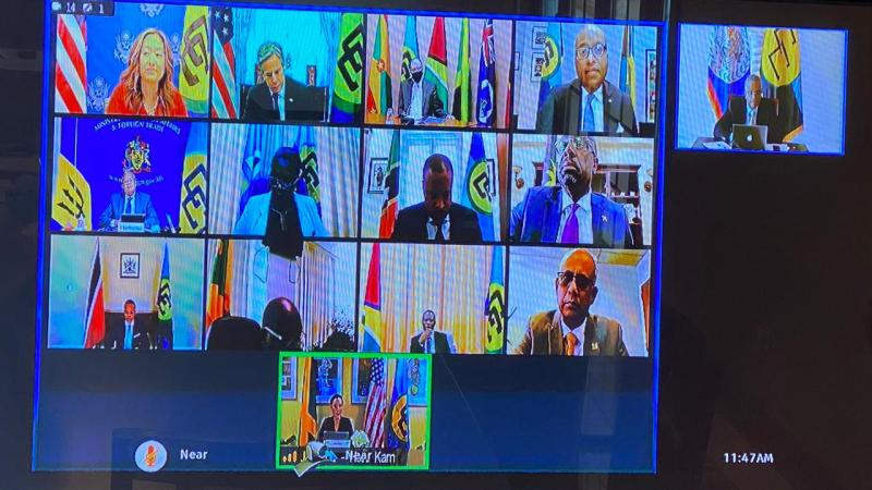 Belize Participates in Virtual Roundtable with US Secretary of State