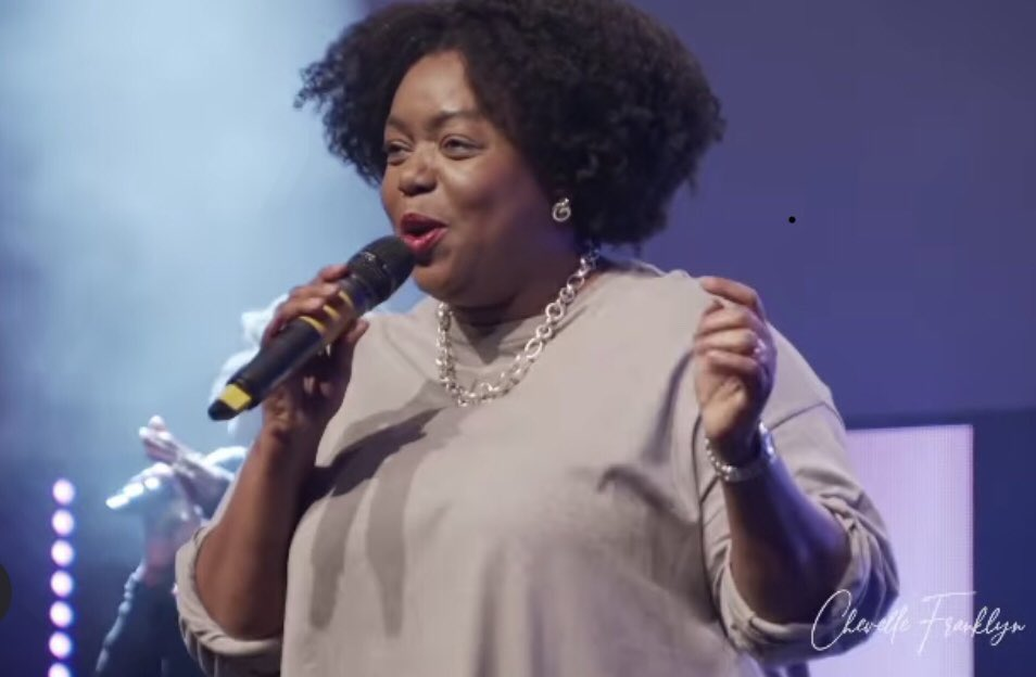 Jamaica Gospel Singer Chevelle Franklyn Performs at The Potter's House