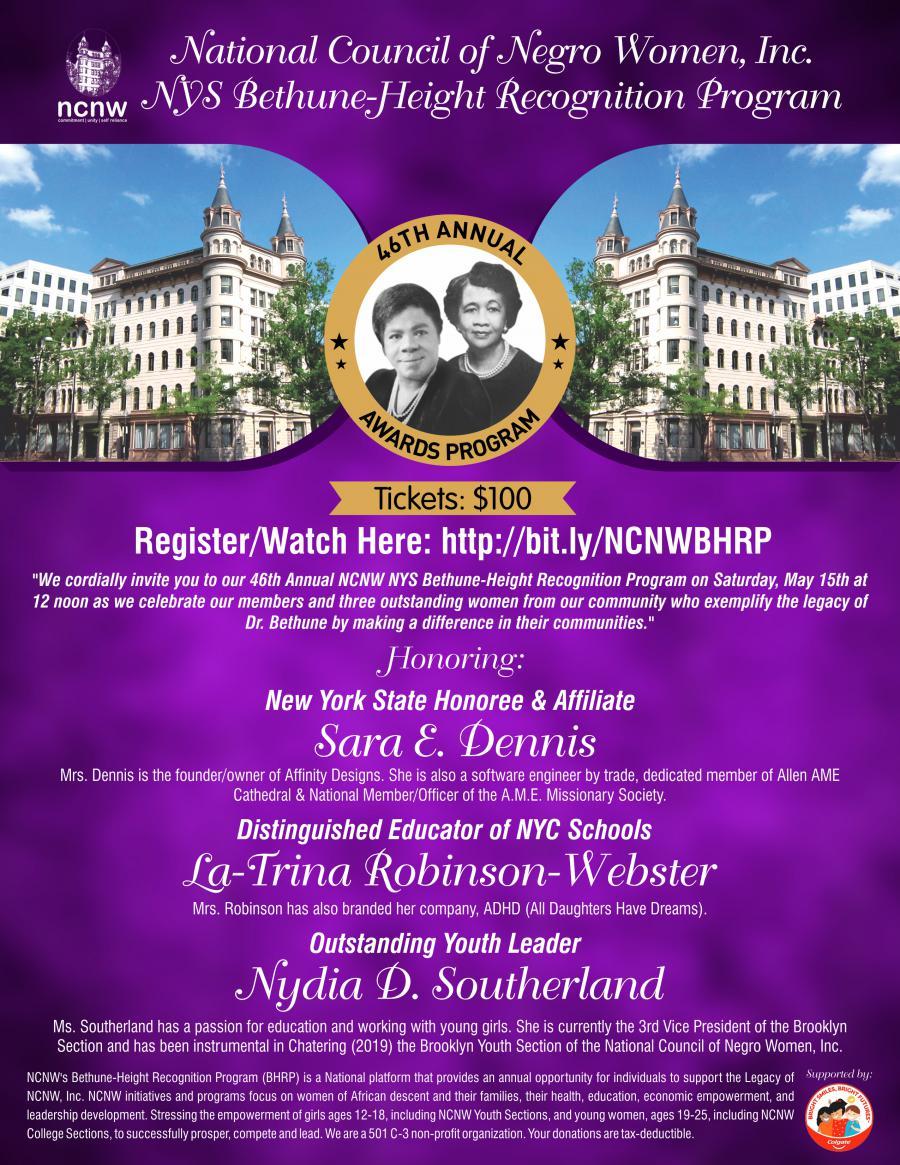 National Council of Negro Women Inc