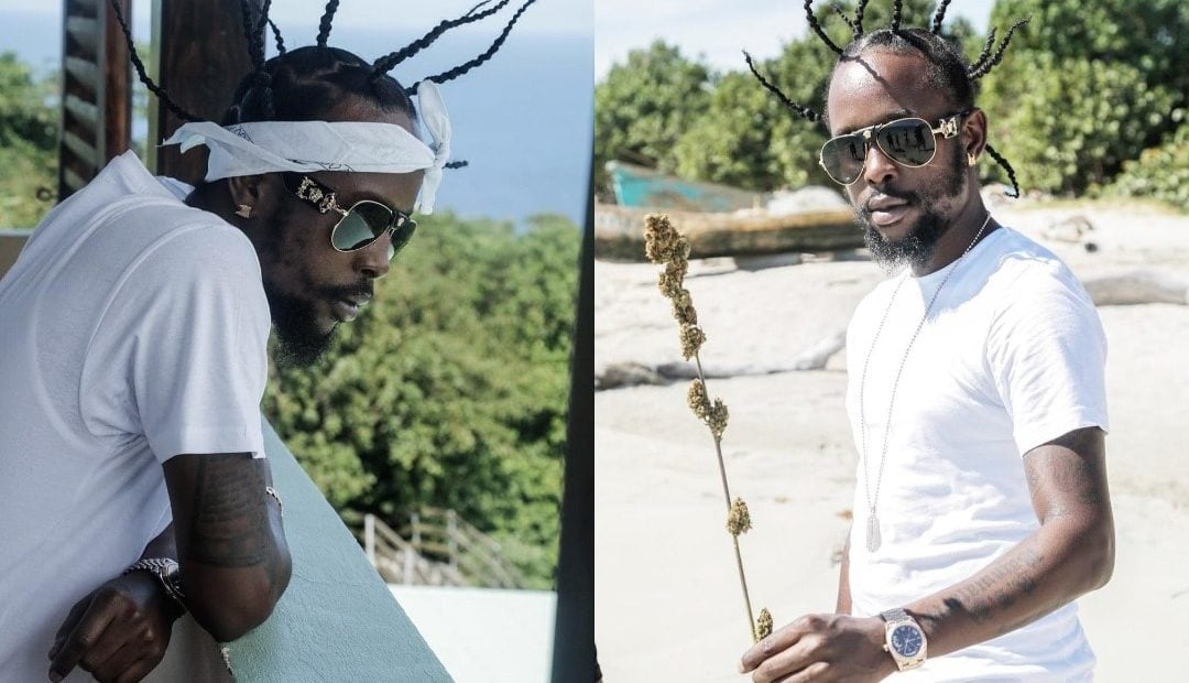 Popcaan Shows Off New Spiky Hair Style Caribbean