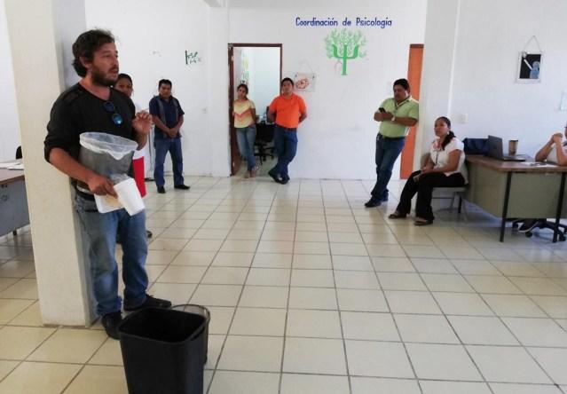 Ayuntamiento carrilloportense predica con el ejemplo en materia ambiental