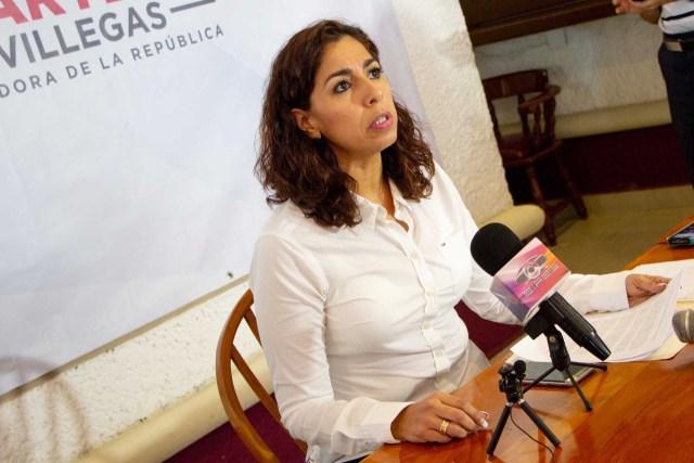 Sería responsable Marybel Villegas de delito electoral