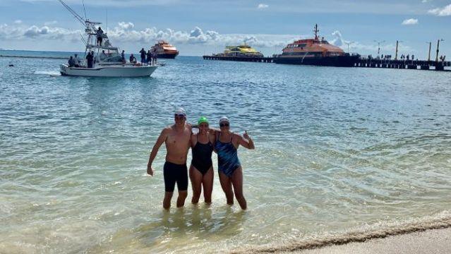 """Campaña """"Swim against plastic- Make it posible"""" hace un llamado desde Quintana Roo"""