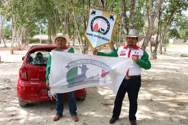 Esperan cifra récord de jinetes para cabalgata anual de la Expomor en José María Morelos