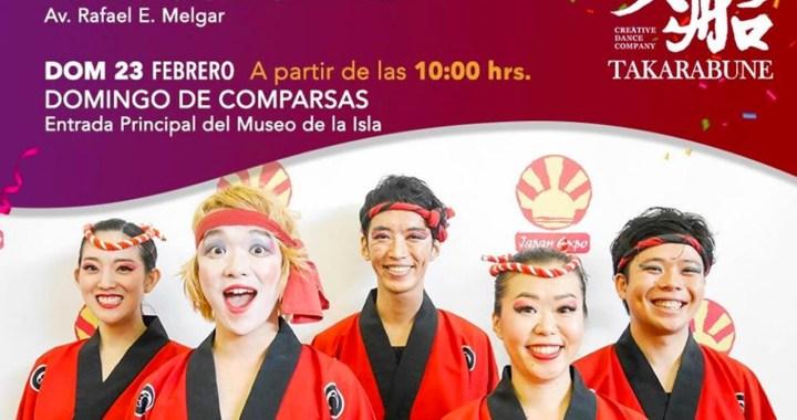 Grupo de danza de Japón participará en carnaval 2020 de Cozumel