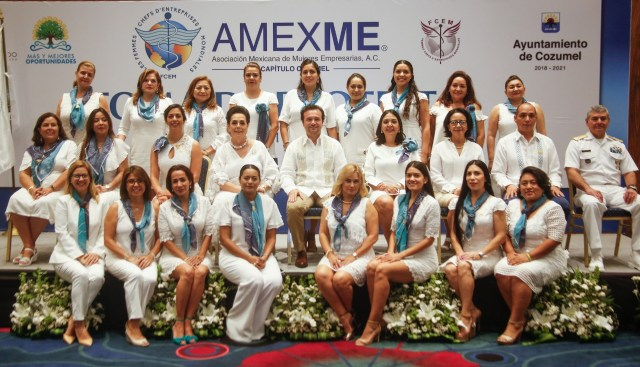 Asume Wilma Padilla Barbosa titularidad de la Amexme-Cozumel