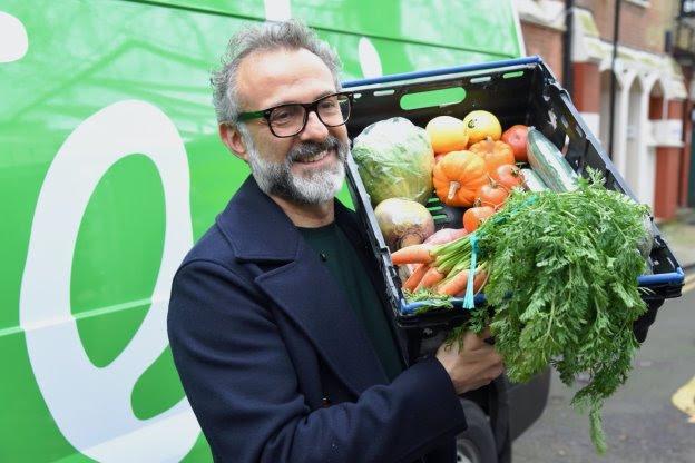 Chef italiano y Fundación Palace, contra el desperdicio de alimentos