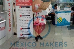 ADO y México Makers Qroo unidos contra el Covid19