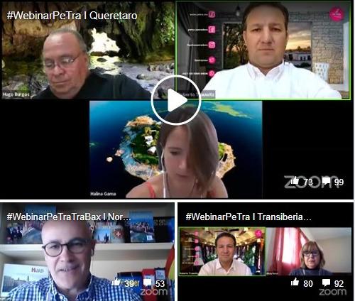 Promueven Querétaro en webinar