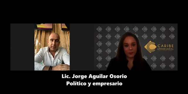 """""""Me voy contento y …"""" nos dice en exclusiva Jorge Aguilar Osorio, quién fuera Secretario General del Ayuntamiento Benito Juárez"""