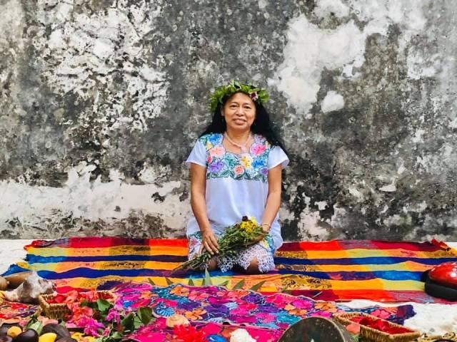 #Entrevista con la sacerdotisa maya, Mary Coba sobre la nueva normalidad para la comunidad maya