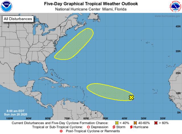 Vigilan en Quintana Roo evolución de onda tropical en el Atlántico