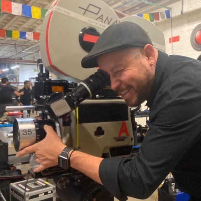 """""""De regreso al set"""" nos platica el cinefotógrafo Genaro de la Cruz en entrevista"""