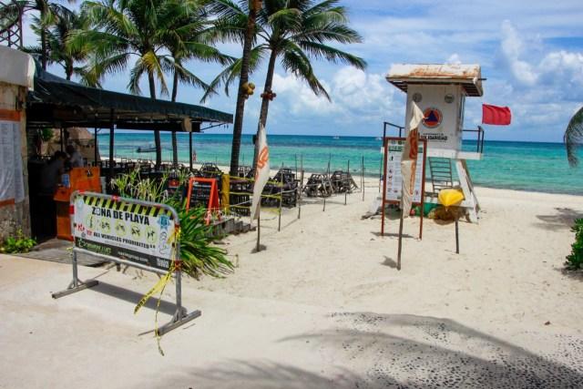Anuncian la reapertura de las playas en Solidaridad