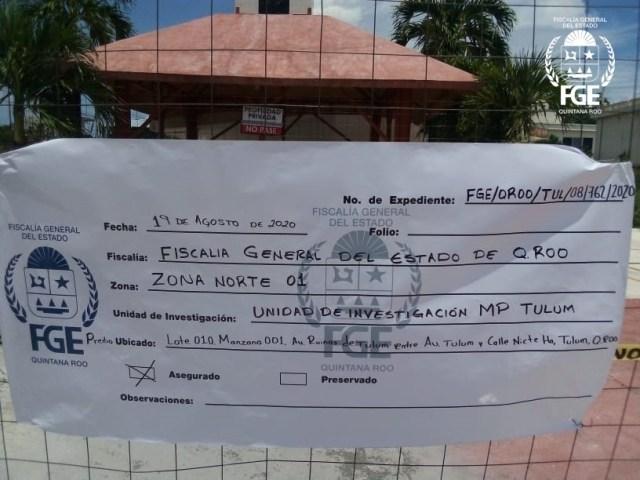 Recuperan en Tulum inmueble invadido propiedad del gobierno del estado