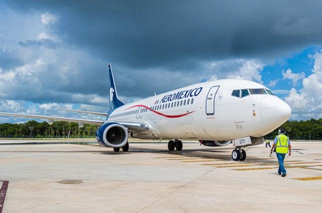 Aeroméxico aumentará en 30% los vuelos en ruta internacional