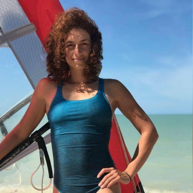 La velerista mexicana Demita Vega en entrevista para #Caribempresarial