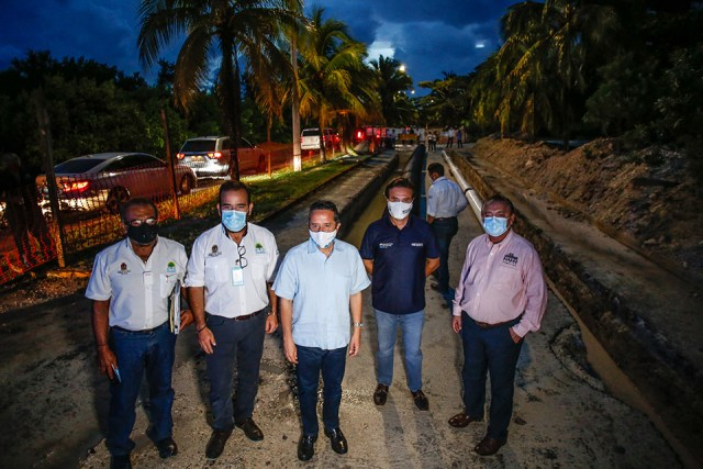 Gobierno de Q.Roo inaugura mejora de infraestructura de agua en Cozumel con inversión de 248 mdp